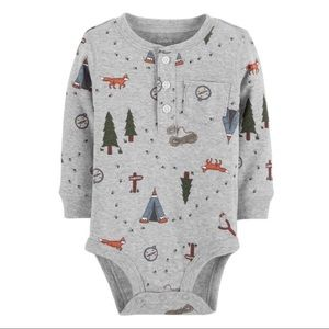 5/$25 Carter's Outdoorsy Camping Bodysuit